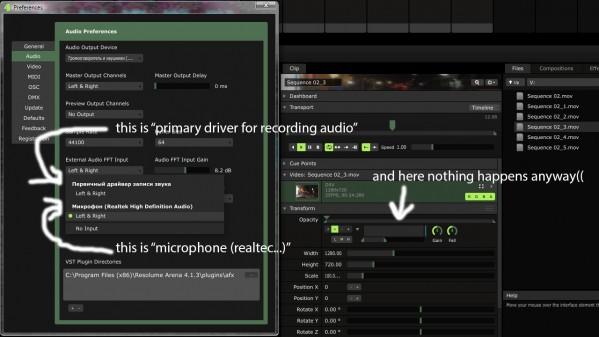 External Audio FFT Input // usb microphone - Resolume Forum
