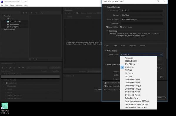 DXV 3 not working on adobe media encoder - Resolume Forum