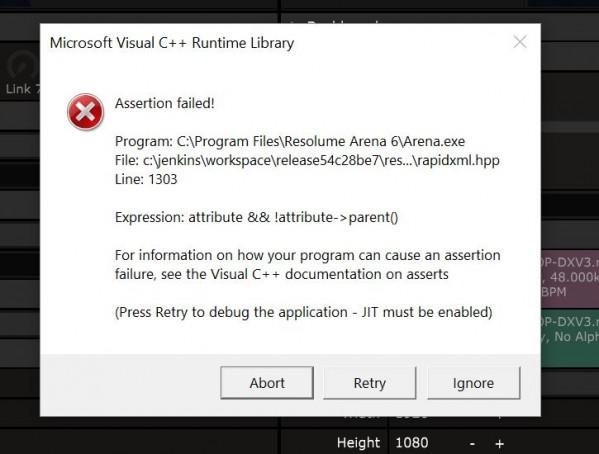 visual C error - Resolume Forum