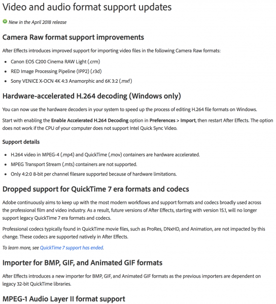 Adobe 2018 April kills DXV - Resolume Forum