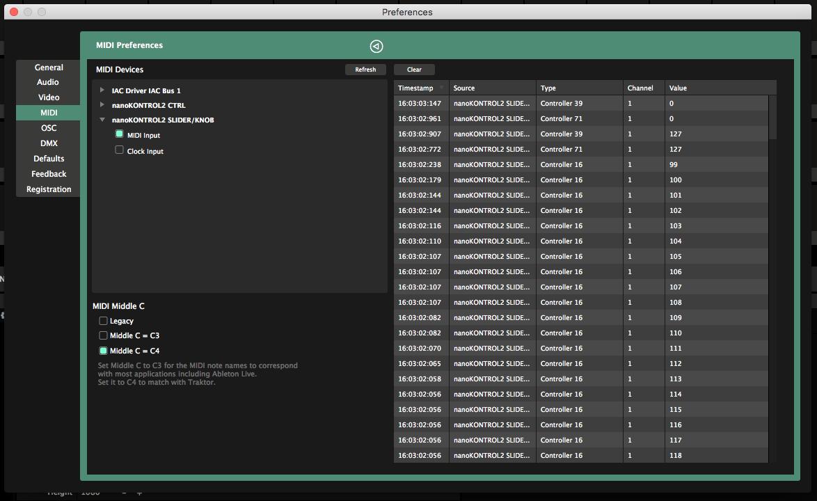 MIDI Shortcuts - Resolume VJ Software