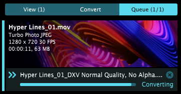 Video Conversion with Alley - Resolume VJ Software